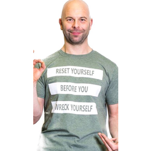 CLEARANCE-Reset Yourself Shirt - 2XL